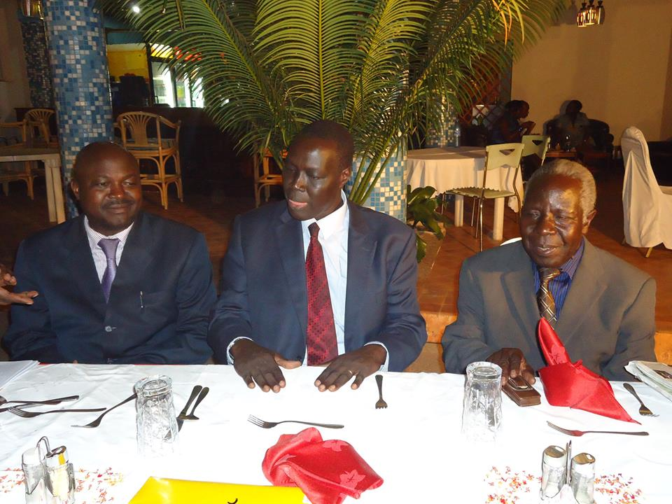 Left-Registrar AHPC- Middle-Director Planning MOH-Right-former AHPC Chairman