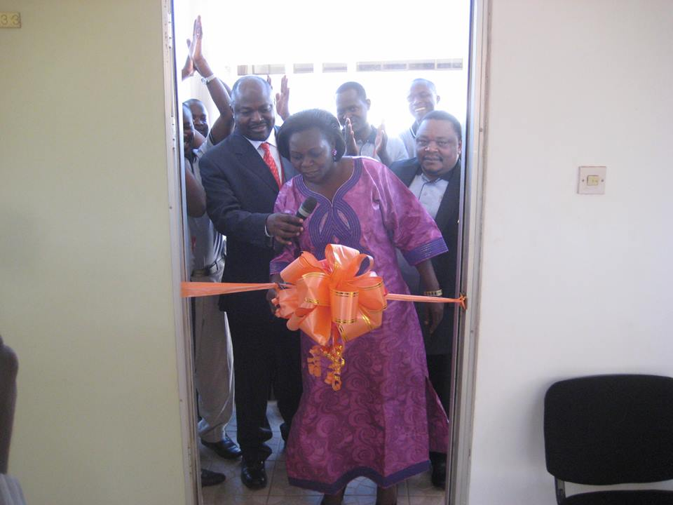Minister Of State Officially Opening The Inspection And Quality Assurance Department
