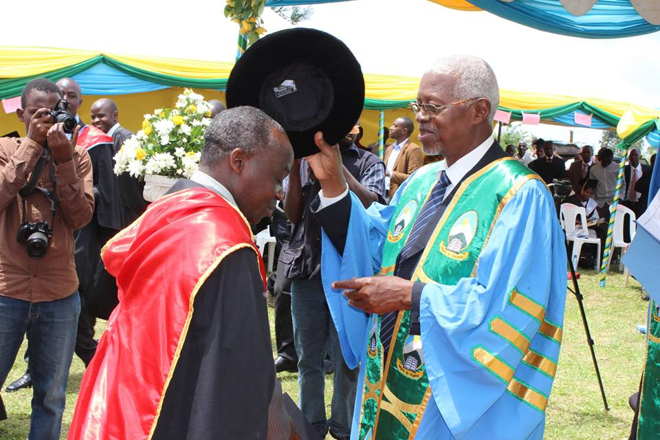 Regional Allied Health Supervisor Fort portal attaining a Master's Degree -MBA